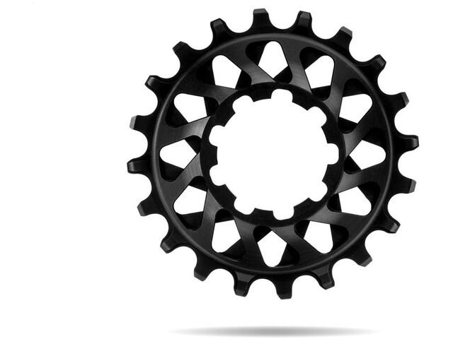 absoluteBLACK Cassette dentée Single Speed, black